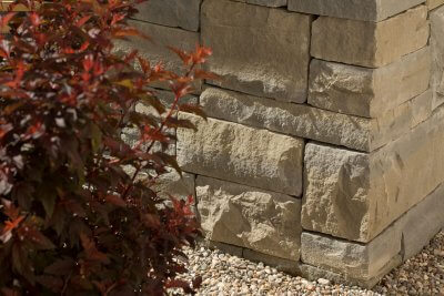 Sauber bearbeitete Trockenmauern